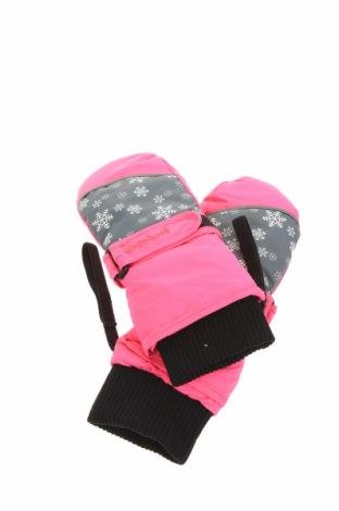 Dětské rukavice pro zimní sporty  Playshoes, Barva Růžová, Polyester, Cena  424,00Kč