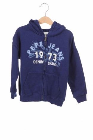 Παιδικό φούτερ Pepe Jeans, Μέγεθος 5-6y/ 116-122 εκ., Χρώμα Μπλέ, Βαμβάκι, Τιμή 17,07€