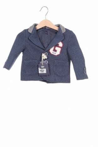 Παιδικό σακάκι, Μέγεθος 6-9m/ 68-74 εκ., Χρώμα Μπλέ, 72% πολυεστέρας, 28% βισκόζη, Τιμή 9,96€