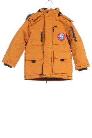 Παιδικό μπουφάν Hulabalu, Μέγεθος 4-5y/ 110-116 εκ., Χρώμα Κίτρινο, Πολυεστέρας, Τιμή 33,91€