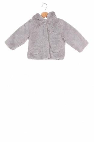 Παιδικό μπουφάν Little Celebs, Μέγεθος 9-12m/ 74-80 εκ., Χρώμα Γκρί, Πολυεστέρας, Τιμή 16,29€