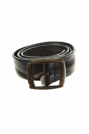 Колан Diesel, Цвят Черен, Естествена кожа, Цена 38,25лв.