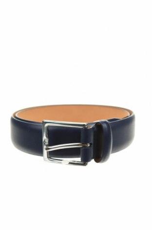 Ζώνη Hackett, Χρώμα Μπλέ, Γνήσιο δέρμα, Τιμή 17,43€