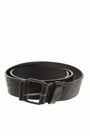 Ζώνη Pull&Bear, Χρώμα Μαύρο, Δερματίνη, Τιμή 9,28€