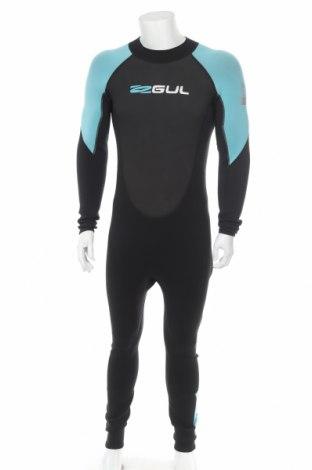 Costum pentru sporturi acvatice. Gul, Mărime L, Culoare Negru, 90% neopren, 10% poliester, Preț 466,28 Lei