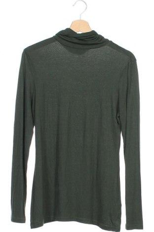 Мъжка блуза H&M, Размер M, Цвят Зелен, 95% вискоза, 5% еластан, Цена 4,73лв.