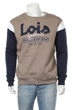 Мъжка блуза Lois, Размер M, Цвят Многоцветен, Памук, Цена 30,36лв.