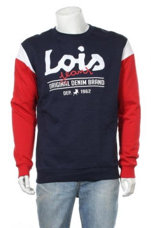 Мъжка блуза Lois, Размер M, Цвят Многоцветен, Памук, Цена 29,67лв.