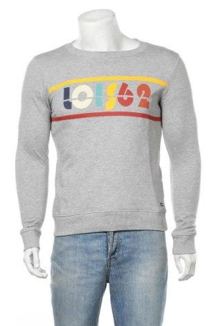 Мъжка блуза Lois, Размер S, Цвят Сив, Памук, Цена 24,84лв.