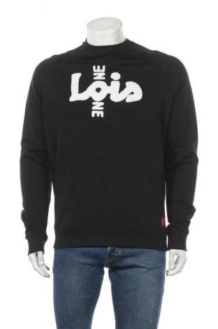 Мъжка блуза Lois, Размер M, Цвят Черен, Памук, Цена 31,74лв.