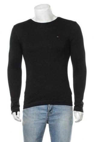 Ανδρική μπλούζα Tommy Hilfiger, Μέγεθος S, Χρώμα Μαύρο, 100% βαμβάκι, Τιμή 24,49€