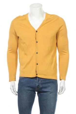 Мъжка жилетка Antony Morato, Размер M, Цвят Жълт, Памук, Цена 25,02лв.