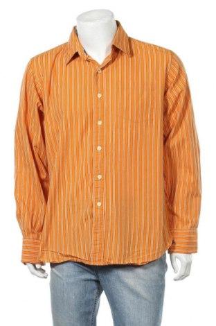 Мъжка риза Trailer, Размер XXL, Цвят Оранжев, Памук, Цена 5,18лв.