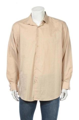 Мъжка риза Adrienne Vittadini, Размер XL, Цвят Бежов, Цена 16,38лв.