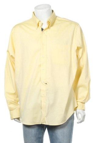 Мъжка риза American Living, Размер XXL, Цвят Жълт, Памук, Цена 15,44лв.