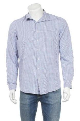 Мъжка риза Angelo Litrico, Размер L, Цвят Син, Памук, Цена 11,03лв.