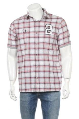 Мъжка риза Angelo Litrico, Размер M, Цвят Многоцветен, 60% памук, 40% полиестер, Цена 6,05лв.