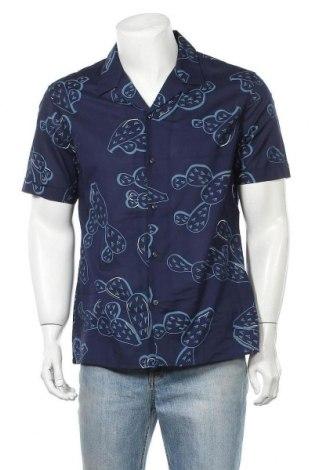Мъжка риза Antony Morato, Размер M, Цвят Син, Памук, Цена 26,70лв.