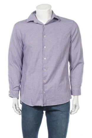 Мъжка риза Ben Sherman, Размер L, Цвят Лилав, 97% памук, 3% еластан, Цена 10,71лв.