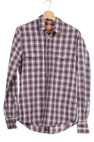 Мъжка риза Boss Orange, Размер S, Цвят Многоцветен, Памук, Цена 17,33лв.