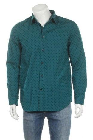 Ανδρικό πουκάμισο Diesel, Μέγεθος M, Χρώμα Μπλέ, Βαμβάκι, Τιμή 34,56€