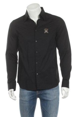 Ανδρικό πουκάμισο Diesel Black Gold, Μέγεθος M, Χρώμα Μαύρο, Βαμβάκι, Τιμή 60,08€