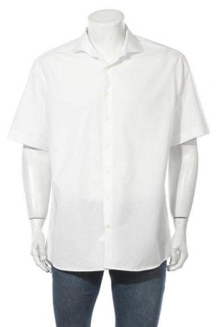 Мъжка риза Eterna, Размер XL, Цвят Бял, Памук, Цена 14,75лв.