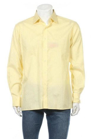 Мъжка риза Eterna, Размер L, Цвят Жълт, Памук, Цена 17,96лв.