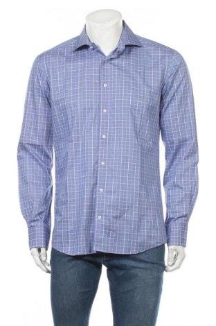Мъжка риза Eterna, Размер M, Цвят Син, Памук, Цена 10,71лв.