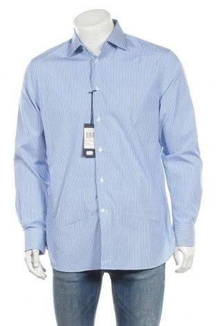 Pánská košile  Faconnable, Velikost M, Barva Modrá, Bavlna, Cena  645,00Kč