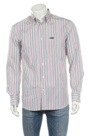 Ανδρικό πουκάμισο Faconnable, Μέγεθος M, Χρώμα Πολύχρωμο, Βαμβάκι, Τιμή 16,39€