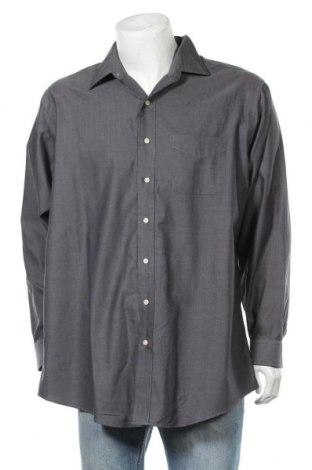 Мъжка риза Kirkland, Размер XXL, Цвят Сив, Памук, Цена 4,71лв.