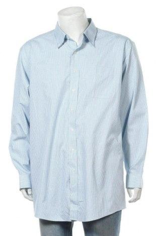 Мъжка риза L.L. Bean, Размер XXL, Цвят Син, Памук, Цена 16,96лв.