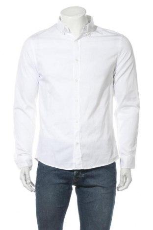 Ανδρικό πουκάμισο Lft, Μέγεθος M, Χρώμα Λευκό, Βαμβάκι, Τιμή 17,58€