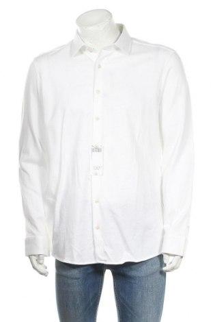 Ανδρικό πουκάμισο Olymp, Μέγεθος XL, Χρώμα Λευκό, Βαμβάκι, Τιμή 14,25€