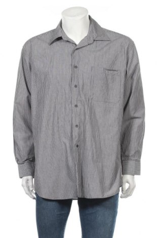 Мъжка риза Pierre Cardin, Размер L, Цвят Сив, Памук, Цена 8,40лв.