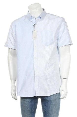 Мъжка риза River Island, Размер XL, Цвят Син, Памук, Цена 17,64лв.
