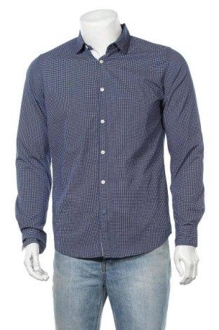 Ανδρικό πουκάμισο Springfield, Μέγεθος M, Χρώμα Μπλέ, Βαμβάκι, Τιμή 22,41€