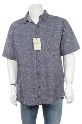 Мъжка риза Vintage, Размер XL, Цвят Син, Памук, Цена 32,34лв.