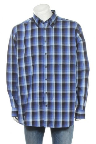 Мъжка риза W.O.B. World Of Basics, Размер XXL, Цвят Многоцветен, Памук, Цена 14,28лв.