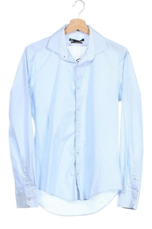 Мъжка риза WE, Размер M, Цвят Син, 60% памук, 35% полиамид, 5% еластан, Цена 15,96лв.