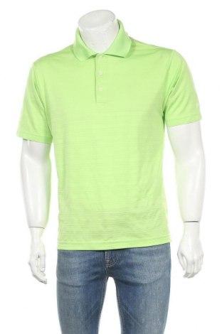 Мъжка тениска Adidas, Размер M, Цвят Зелен, Полиестер, Цена 18,95лв.