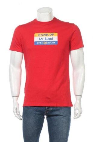 Мъжка тениска Armand Basi, Размер M, Цвят Червен, Памук, Цена 27,65лв.