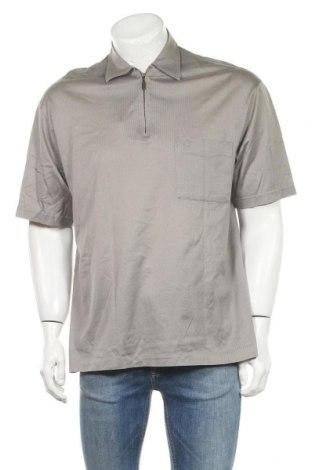 Мъжка тениска Barisal, Размер M, Цвят Бежов, Памук, Цена 12,50лв.