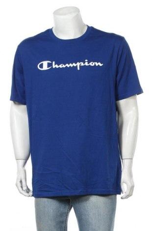 Ανδρικό t-shirt Champion, Μέγεθος XXL, Χρώμα Μπλέ, Βαμβάκι, Τιμή 15,08€