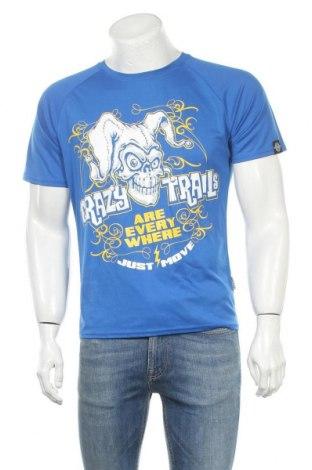 Мъжка тениска Cona Sports, Размер M, Цвят Син, Полиестер, Цена 15,12лв.