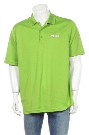 Мъжка тениска Core365, Размер XL, Цвят Зелен, Полиестер, Цена 4,73лв.