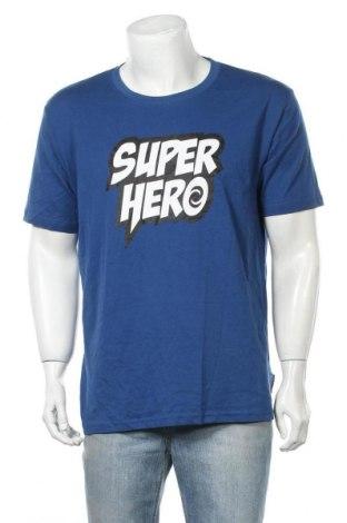 Pánské tričko  Donnay, Velikost XXL, Barva Modrá, Bavlna, Cena  115,00Kč