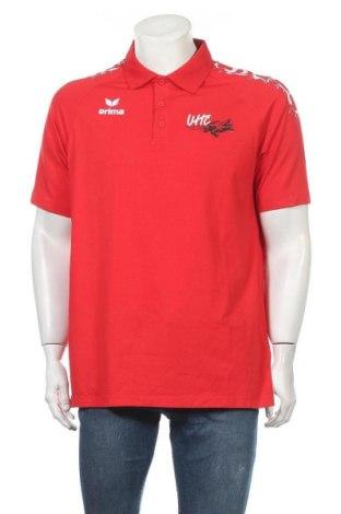 Мъжка тениска Erima, Размер XL, Цвят Червен, 95% памук, 5% еластан, Цена 16,07лв.