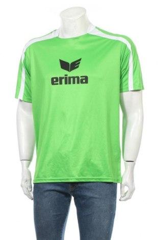 Мъжка тениска Erima, Размер L, Цвят Зелен, Полиестер, Цена 14,28лв.